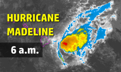 Hurricane Madeline Just Hours Away From Hawaii Island