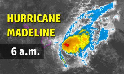 Hurricane Madeline Just Hours Away From Hawaii Island