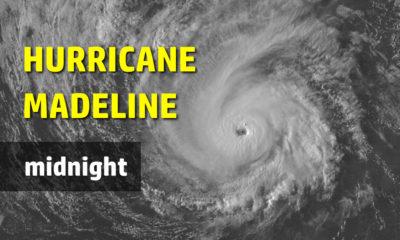 12 AM UPDATE: Major Hurricane Madeline Tracks Toward Hawaii