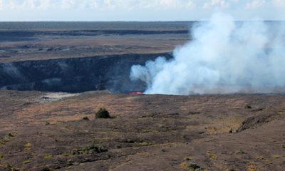 Kilauea Volcano Lava Lake Rises Back Into View