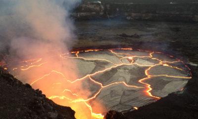 Volcano Lava Lake Nears Overflow, Earthquakes Rise