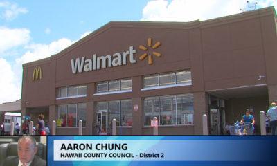 VIDEO: Unpermitted Hilo Walmart Renovation Questioned