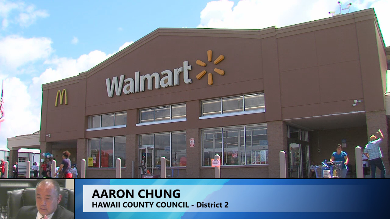 VIDEO: Unpermitted Hilo Walmart Renovation Questioned