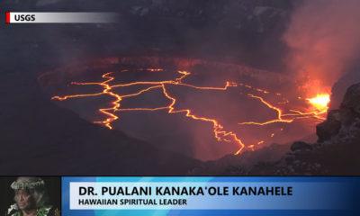 VIDEO: Hawaii Volcano Rises During IUCN Congress