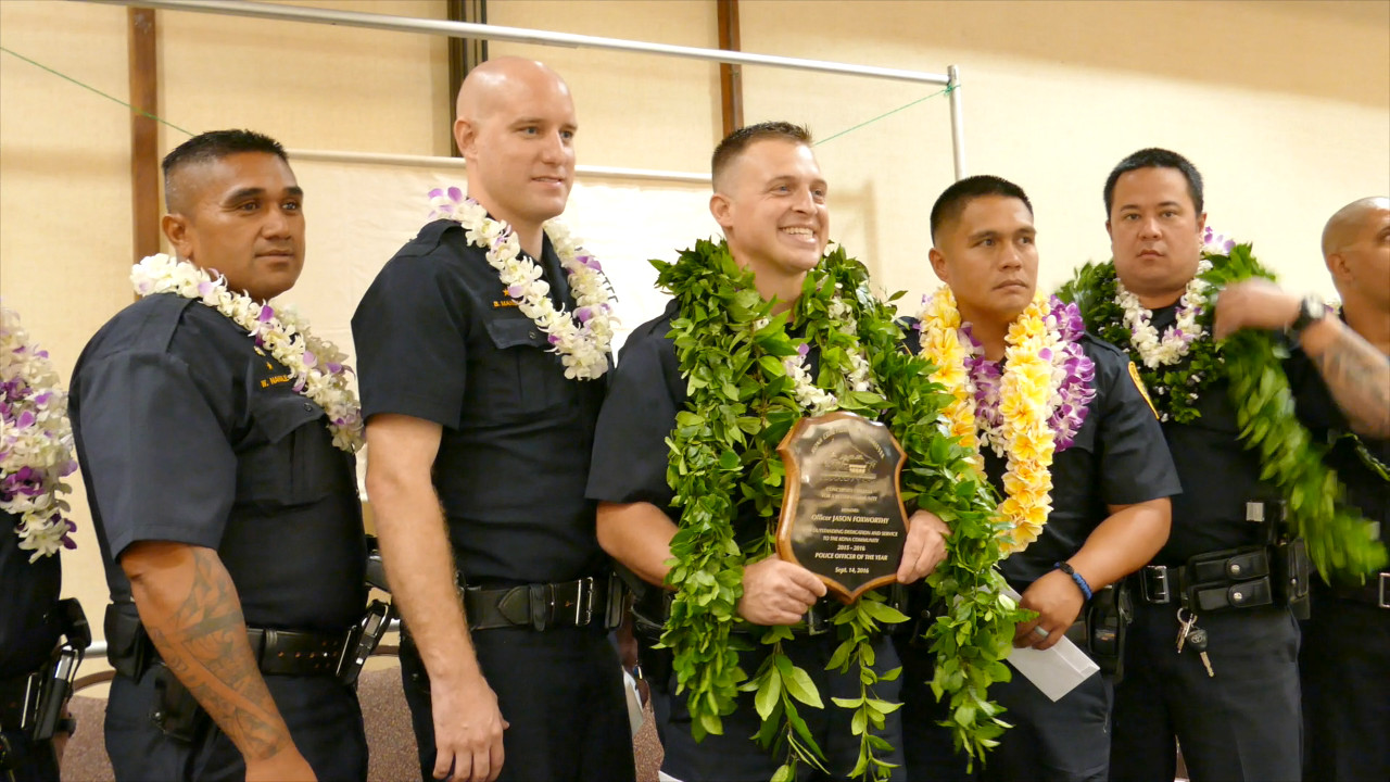 VIDEO: Jason Foxworthy Named Kona Officer Of The Year