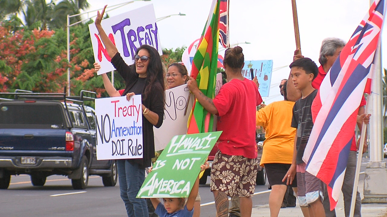 VIDEO: Opposition To DOI Rule In Hilo