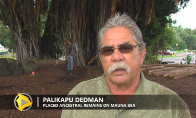 VIDEO: Remains Placed On Mauna Kea Stir Controversy