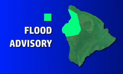 Heavy Rain In Waikoloa Prompts Flood Advisory