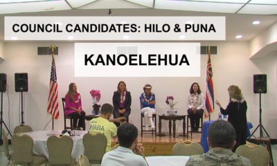 VIDEO: Kanoelehua Industrial – Hilo, Puna Council Candidates (10/14)