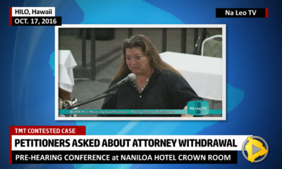 VIDEO: TMT Opponents Asked About Attorney Withdrawal