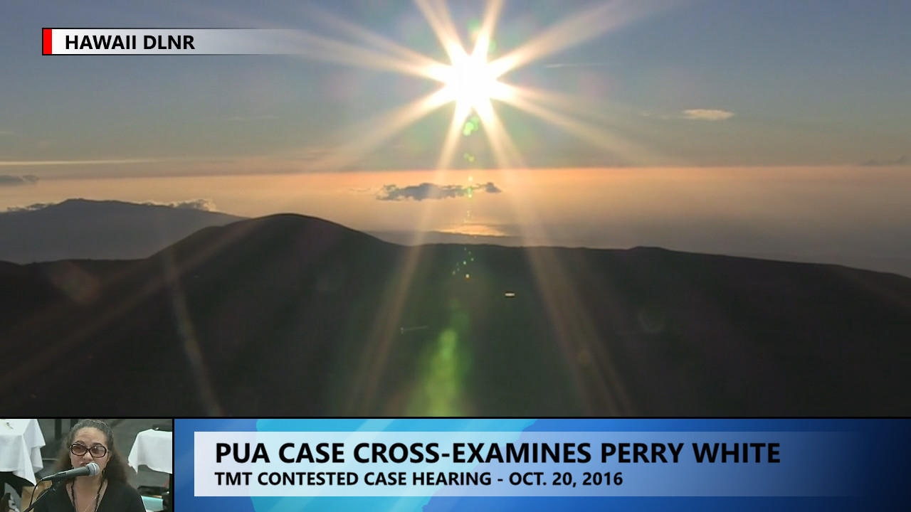 VIDEO: Planner Asked, Is Mauna Kea Sacred?