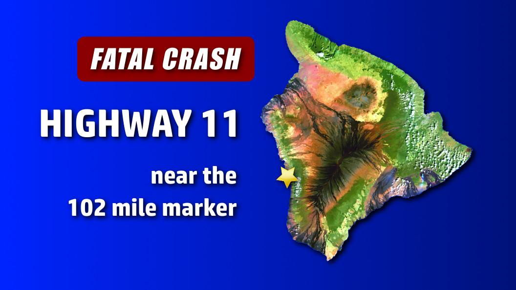 Ocean View Woman Killed In South Kona Crash