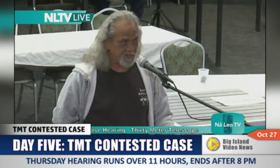 VIDEO: No TMT Hearing Today, Resumes Monday Oct. 31