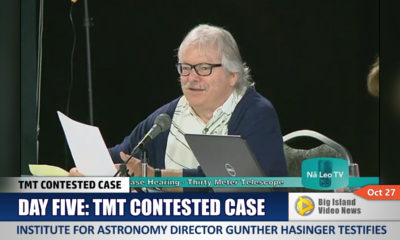 VIDEO: IfA Director Testifes At TMT Hearing