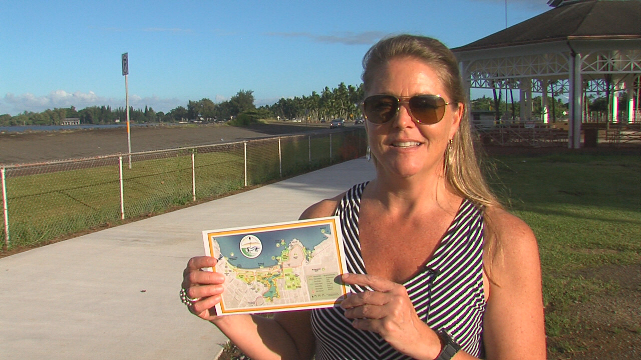 VIDEO: Boosters Can Engrave On Hilo Bayfront Trails