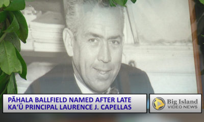 VIDEO: Council To Name Laurence J. Capellas Ballfield In Pahala