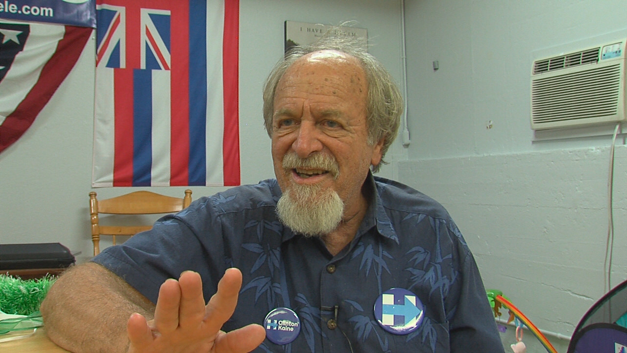 VIDEO: Hawaii Co. Democratic Chair Reacts To Trump Victory