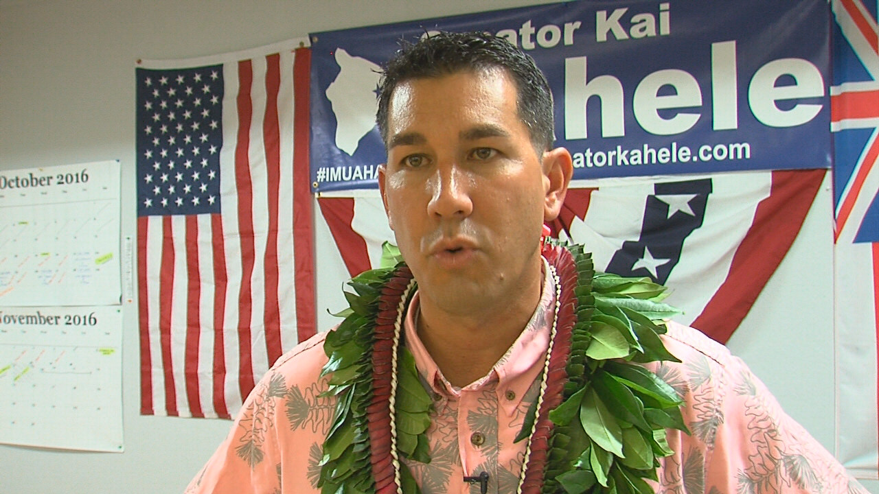 VIDEO: Hilo Sentor Kahele Reflects On Election Results