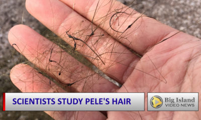 VIDEO: Scientists Gather Pele's Hair For Analyses