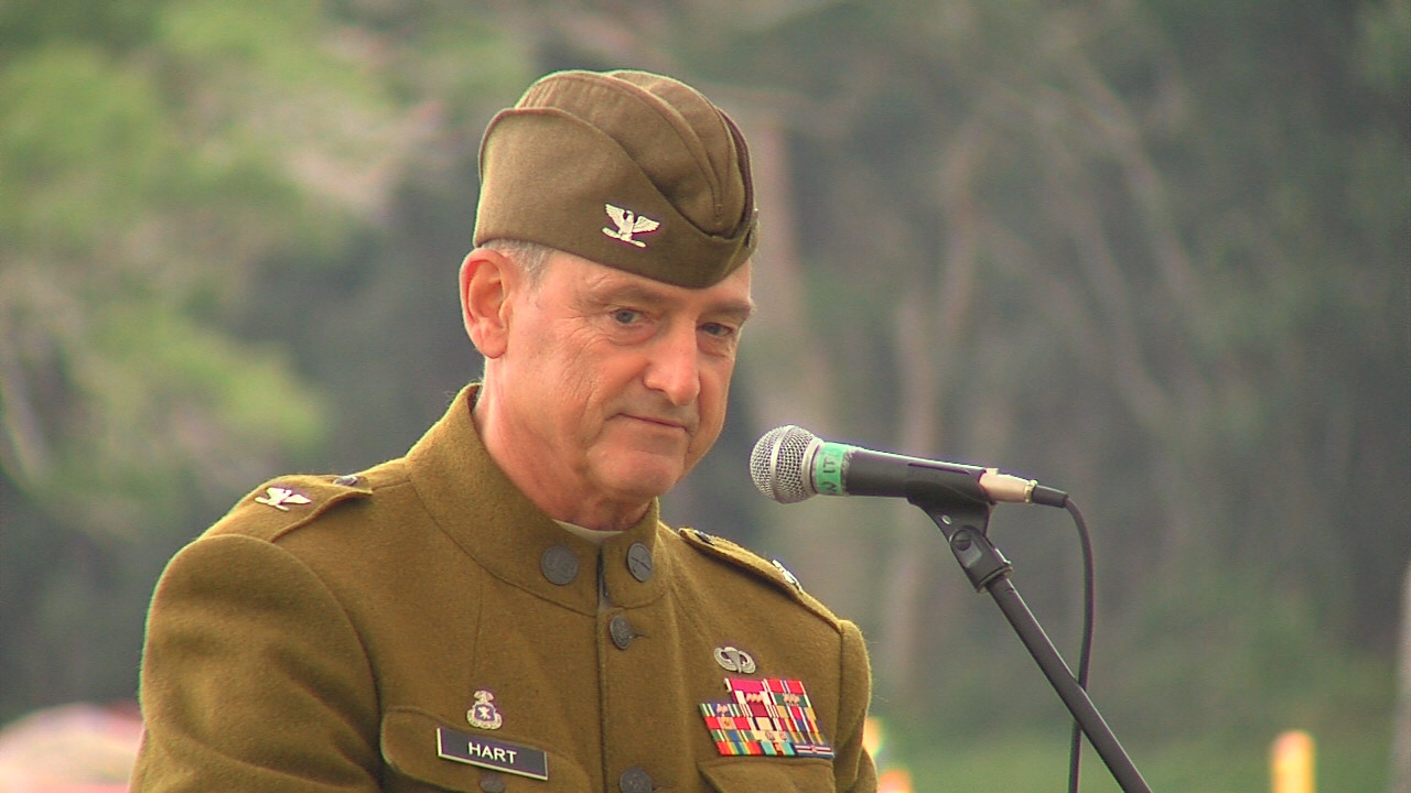 VIDEO: U.S. Army Garrison Officers Give Veterans Day Speeches