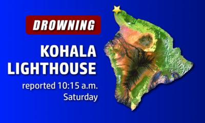 Apparent Drowning Near Kohala Lighthouse