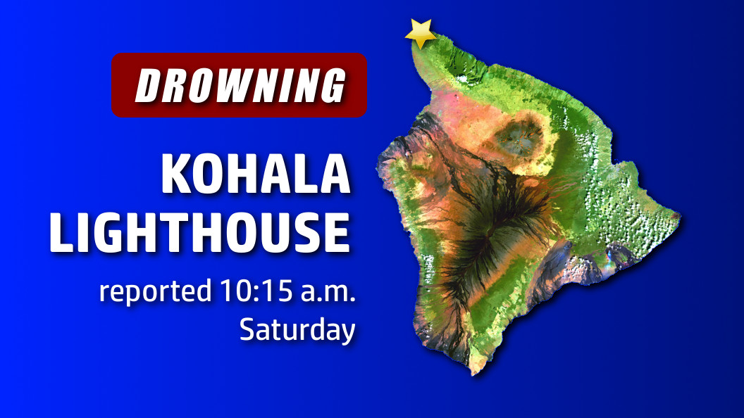Apparent Drowning Near Kohala Lighthouse
