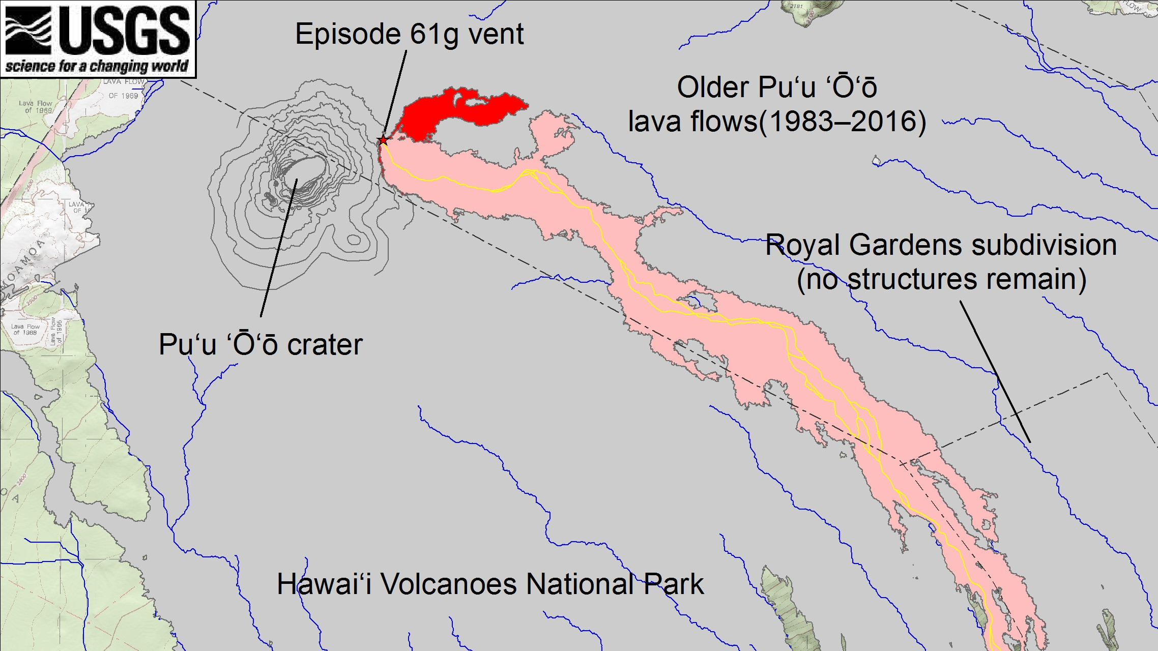 New Lava Breakout Mapped By Scientists