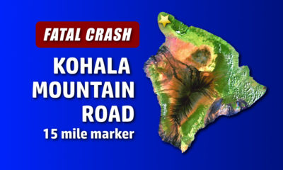 Two Dead In Kohala Mountain Car Crash