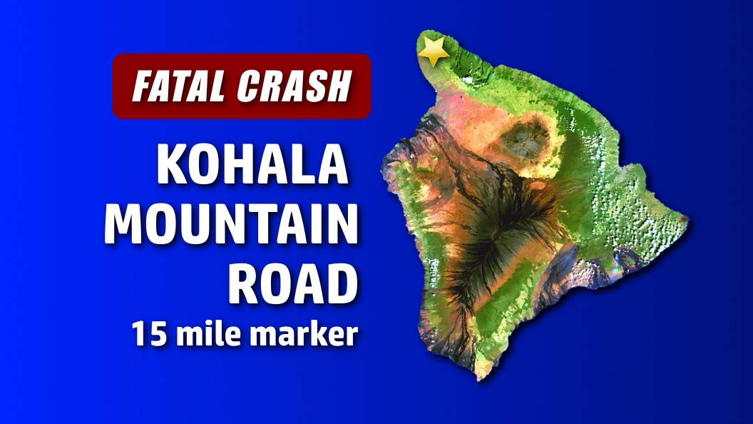 Two Dead In Kohala Mountain Car Crash
