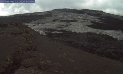Lava Breaks Out From 61g Vent