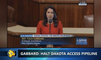 VIDEO: Tulsi Gabbard Tells Obama To Halt Dakota Access Pipeline