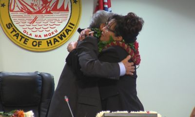 VIDEO: Hawaii's New Mayor Passes Gavel To New Council Chair