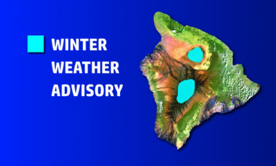 Winter Weather Advisory For Hawaii, Mauna Kea Road Closed