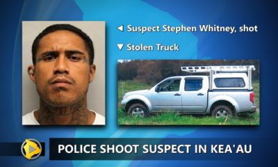 Police Shoot Man In Keaau, Wanted For Attempted Murder