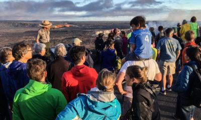 Holiday Surge At Hawaii Volcanoes National Park