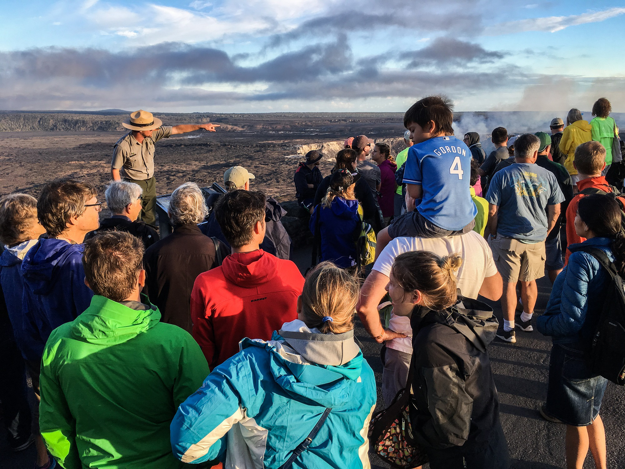 Holiday Surge At Hawaii Volcanoes National Park
