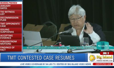 VIDEO: TMT Contested Case Hearing Resumes January 3
