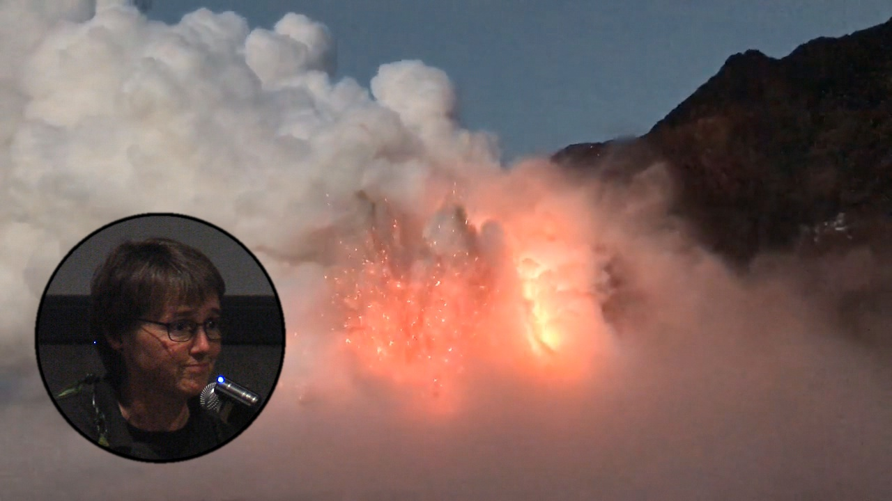 VIDEO: USGS Scientist Describes Lava Delta Collapse