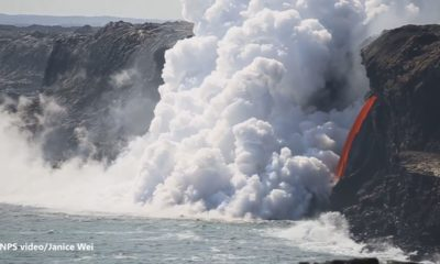 "VIDEO: ""Lava Hose"" Exposed By Severed Cliff"