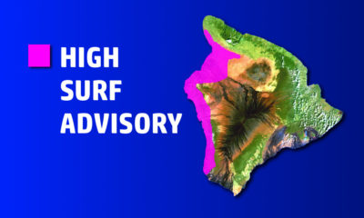 West Hawaii Beaches Closed Due To High Surf