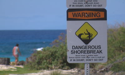 High Surf Warning: Civil Defense Lists Kona Beach Closings