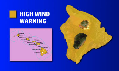 High Wind Warning Issued For Hawaii