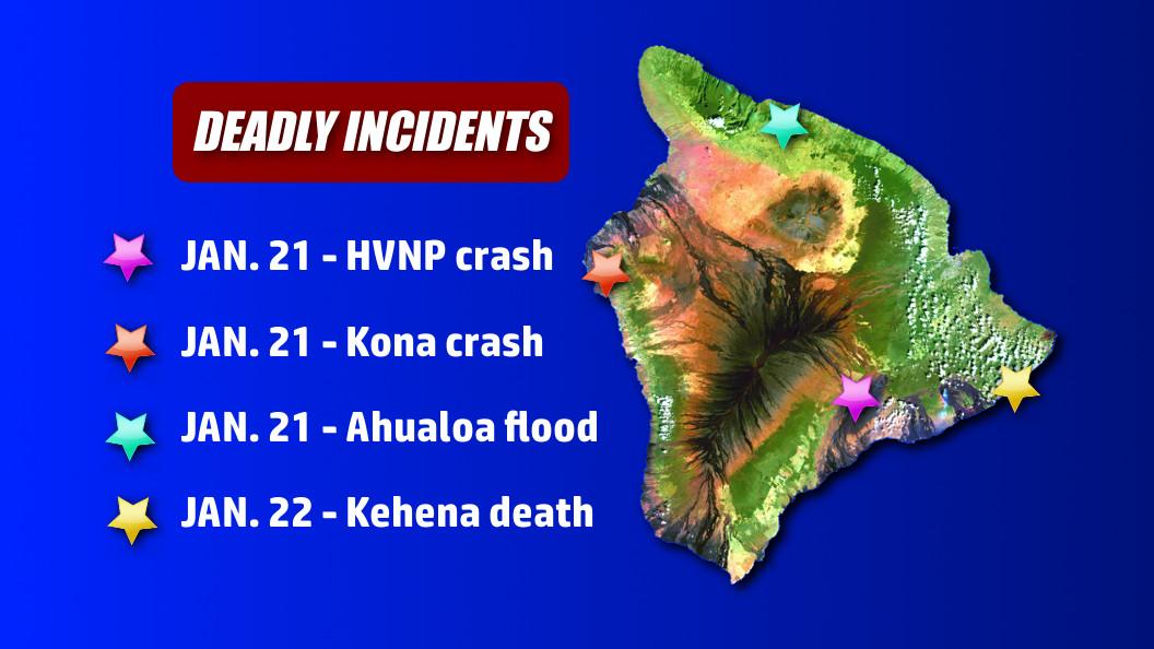 Police ID Victims In Separate Weekend Deaths In Hawaii
