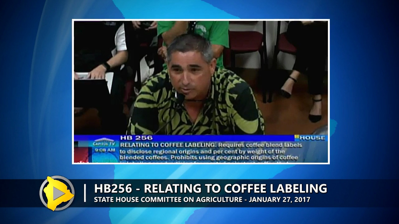 VIDEO: State House Coffee Labeling Bill Advances
