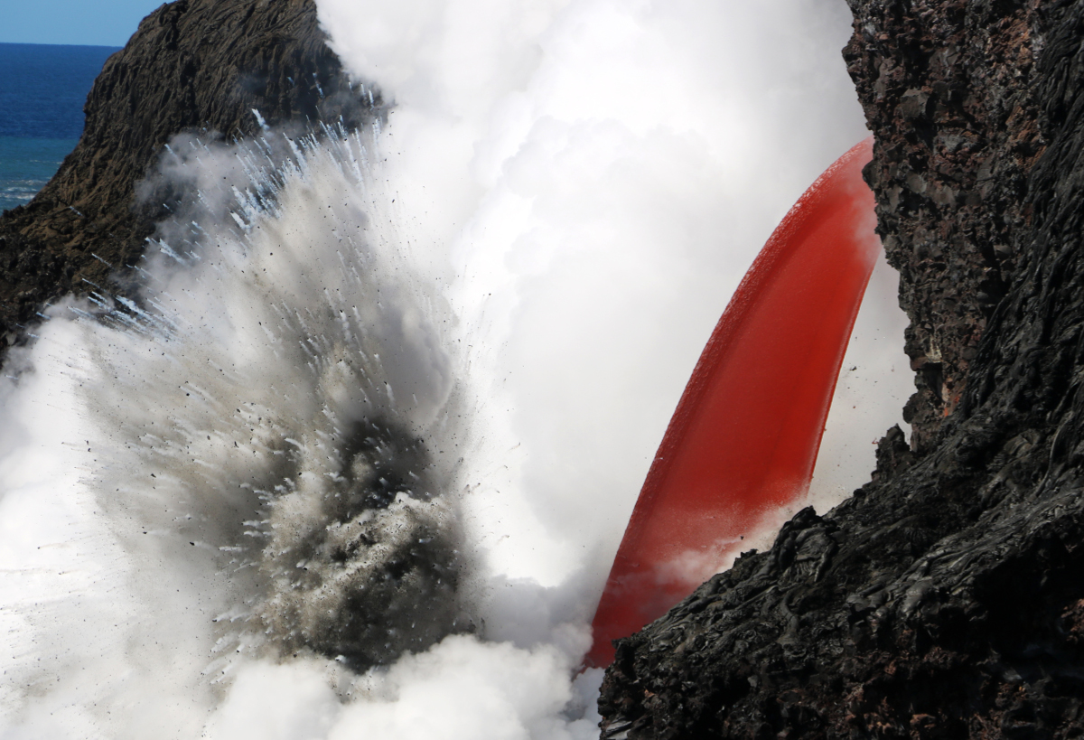 VIDEO: Lava Fire Hose Described By Volcano Scientist