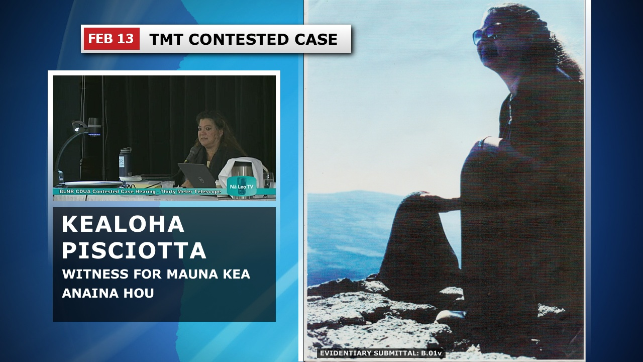 VIDEO: Mauna Kea Pohaku Problems Haunt TMT Petitioner