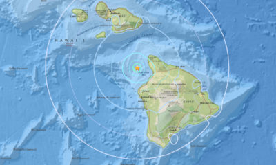 Magnitude 4.6 Earthquake Rumbles Between Hawaii, Maui