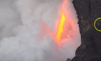 VIDEO: Lava Video Shows People Getting Too Close