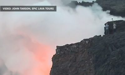 VIDEO: After Collapse, Tourists Still Hike Into Danger Zone