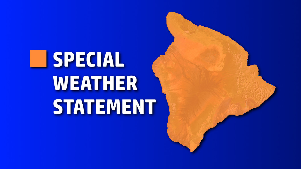 Kona Winds, Heavy Showers On The Way